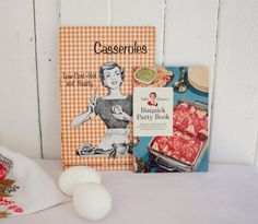 Vintage Cookbooks 1950s Housewife Betty by SummerHolidayVintage