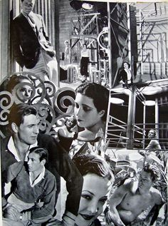 Cecil Beaton's scrapbook.Cecil Beaton was part of the group in England called The Bright Young Things, a group of both privileged upper class aristocrats and their artistic muses. His photos document this time when the young rebelled for the first time