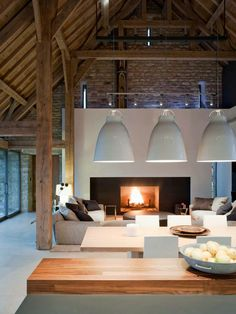 Gloucester Barn transformation | Dehasse London UK Interior Designers