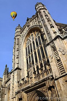 Bath Abbey - City of Bath - England by Steve Allen, via Dreamstime