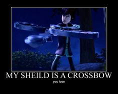 Not only that. It's a crossbow, a slingshot, a catapult, and a dappling hook. Aaand it's also a shield.