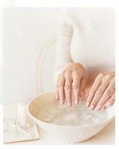 Deixe que elas sequem por alguns minutos e depois mergulhe-as na água gelada.
