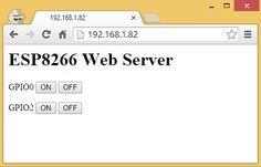 Build you own ESP8266 Web Server