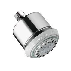 Hansgrohe Multi Function Shower Head Hansgrohe Multi Function Shower Head Review Acclaimed for its sleek European style and German performance standards, this Hansgrohe Fixed Shower Head offers a clea