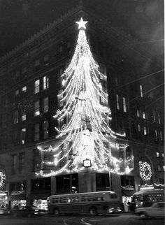 "Odd Pittsburgh on Twitter: ""#Pittsburgh #LightUpNight #holidayseason #1960… """