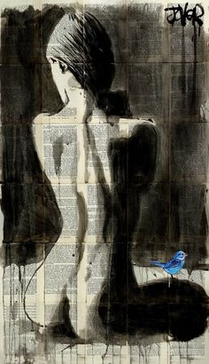 "Saatchi Art Artist LOUI JOVER; Drawing, ""morning star"" #art"