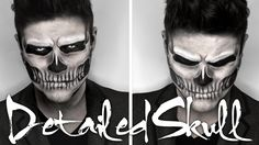 Lady Gaga Skull Makeup | Halloween Tutorial THIS DUDE IS AMAZING! !!!!! MUST WATCH!!!!
