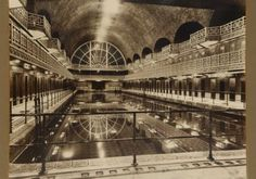 Histoire de La Piscine (Musee) - Le bassin, 1932