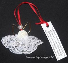 Paper Clip Angel with Poem  CraftSayingscom  View topic