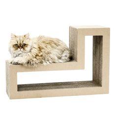 Amazon.com : Katris: Cat Scratcher / Modular Furniture / Cat Tree (L-shape) : Pet Supplies