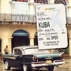 German: Listen to the sights of Cuba