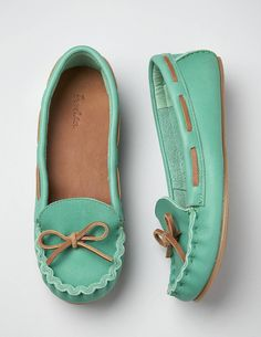 Casual Moccasins.. I love wearing moccasins... would like these  <3