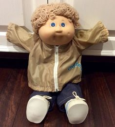 1985 Cabbage Patch Kid Blonde Haired Boy, CPK, Coleco Dolls, Vintage Cabbage Patch Kids, OAA, CPK Dolls, Xavier Roberts, Doll by Lalecreations on Etsy