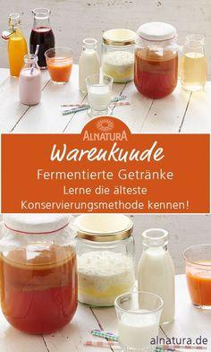Fermented drinks: what makes kefir & kombucha special - Alnatura - Fermentation is our oldest method of conservation. When there were no refrigerators, fresh food was - Kefir Recipes, Blender Recipes, Smoothie Recipes, Smoked Beef Brisket, Smoked Pork, Homebrew Recipes, Barbecue Recipes, Conservation, Kefir Benefits