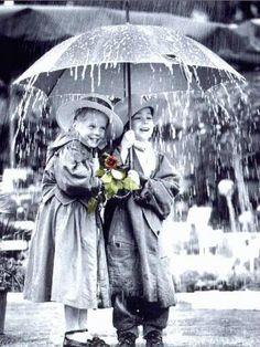 Ready? Let's Go ....Two girls (best of fiends) under an umbrella in the rain. Walking In The Rain, Singing In The Rain, Its Raining Its Pouring, I Love Rain, Rain Days, Going To Rain, Sound Of Rain, Rainy Night, Under My Umbrella