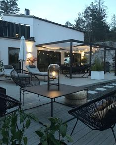 Best Online Furniture Stores, Affordable Furniture, Furniture Shopping, Outdoor Spaces, Outdoor Living, Outdoor Decor, Black Interior Design, Terrace Garden, Decorating Your Home