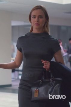 Katrina Bennett wearing  Cushnie Et Ochs FW15 Dress