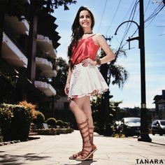 A Tanara me entende: a vida é curta demais para não comprar os sapatos que mais amo!  Sandália gladiadora ref. N7643