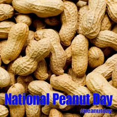 National Peanut Day - September Posted to FB National Holidays, Special Day, Celebrations, September, Food, Tax Day Deals, Meals, Yemek, Eten