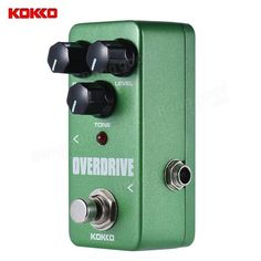 17.79$  Buy now - http://alib77.shopchina.info/go.php?t=32790788812 - KOKKO FOD3 Aluminum alloy Mini Overdrive Pedal Portable Guitar Effect Pedal Guitar Parts & Accessories  #shopstyle