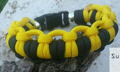 Handmade Paracord Survival Bracelet by MonkeyFighterPCord on Etsy, $14.00