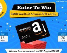 Topofstyle Sweepstake - Enter to win $600