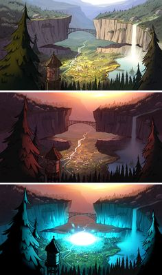 and this was the end of gravity falls :)