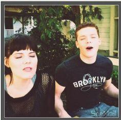 Cameron Monaghan & Emma Greenwell form Shameless (US).