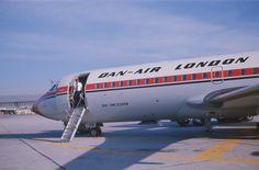 Dan Air London G-APTJ Munich Feb 1977