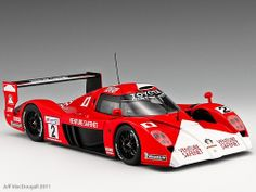 Toyota GT1 TS020 #2 Le Mans 1999