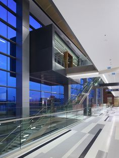 Image 7 of 13 from gallery of Assuta Medical Center / Zeidler Partnership Architects + Moore Architects + M. Photograph by Tom Arban Archi Design, Architect Design, City Of Petra, Old Hospital, Clinic Interior Design, Ground Floor Plan, Main Entrance, Medical Center, Facade