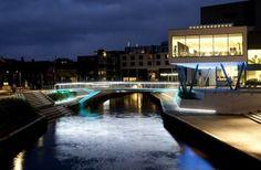 Holstebro - Concert Hall - Denmark. Lighting products: iGuzzini illuminazione #iguzzini #light #lighting #bridge #experience #urban