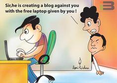 Free Laptop Cartoon