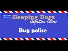[45sec]Bug police - Sleeping Dogs: Definitive Edition