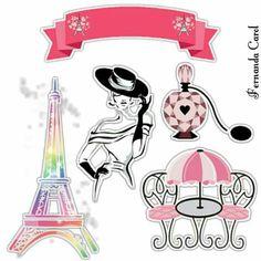 Paris Party, Paris Theme, Eiffel Tower Clip Art, Bolo Paris, Paris Clipart, Paris Cakes, Crazy Girls, Miraculous Ladybug, Cool Cats