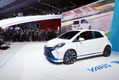 Presença da Toyota no Salão Automóvel de Frankfurt 2013.