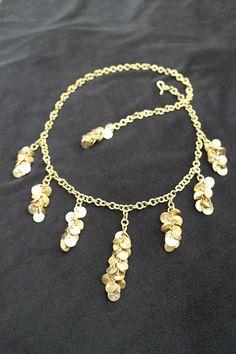 Brass Tassel Necklace