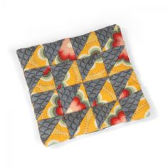 Half-Square Triangles Coaster