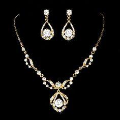 Valeur or bijoux de mariage ensemble collier par TheExquisiteBride