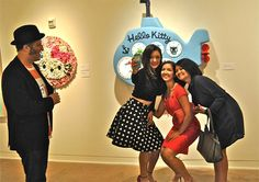 Lina in L.A. -- Hello Kitty Exhibit Opening Bash | Los Angeles | Slideshows | Los Angeles News and Events | LA Weekly