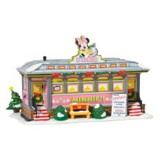 Amazon.com - Department 56 Disney Village Lit House, Minnie's Diner - Holiday Collectible Buildings