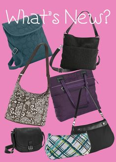 New purses for Fall 2013.   August special - For every $35 spent, get any purse for 50% off. www.mythirtyone.com/wendy1