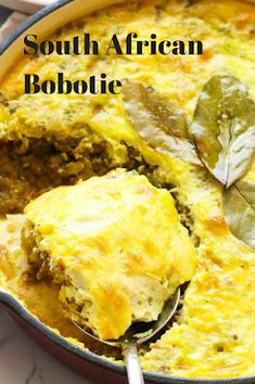 Recipes - South African Bobotie - Alissa Crawford - Recipes - South African Bobotie Recipes By Vance: Recipes - South African Bobotie - South African Dishes, South African Recipes, Ethnic Recipes, Africa Recipes, Braai Recipes, Meat Recipes, Cooking Recipes, Curry Recipes, Entrees