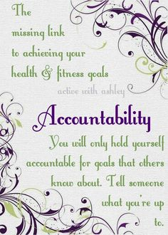 I'd love to have you in my August Accountability Group! Message me on facebook and let me know you want to join! Facebook.com/ActiveWithAsh