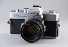 my first SLR Minolta SRT 303b