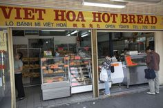 Sydney Cabramatta - Hot bread shop  Read more: http://www.traveltherenext.com/explore/item/43-a-taste-of-vietnam  #sydney #vietnam #vietnamese #cabramatta #food #tour #cuisine #cabramatta #discover #travel #traveltherenext