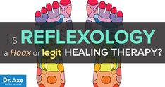 The ancient healing art of reflexology has worked for 6,000 years by stimulating the nervous system to trigger a healing response.. http://www.draxe.com #health #holistic #natural