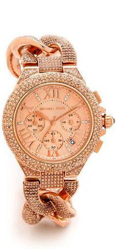 Michael Kors Glitz & Glamour Camille Watch