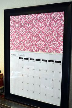 cork & calendar