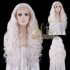 This wig is made with heat resistant synthetic fibers. You can cut/trim the length or style of the wig into any style you like. The colors are the same as shown in the photo, but the mixing portion of the two or multi different colors may not be the same for each wig. | eBay!